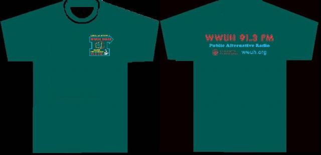 WWUH 2013 Spring Marathon T-shirt Premium: Front and Back View