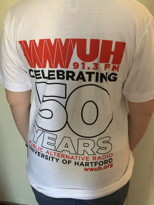 WWUH 2019 Spring Marathon T-Shirt - Back View