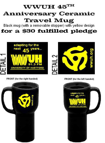 WWUH Travel Mug (detail views)